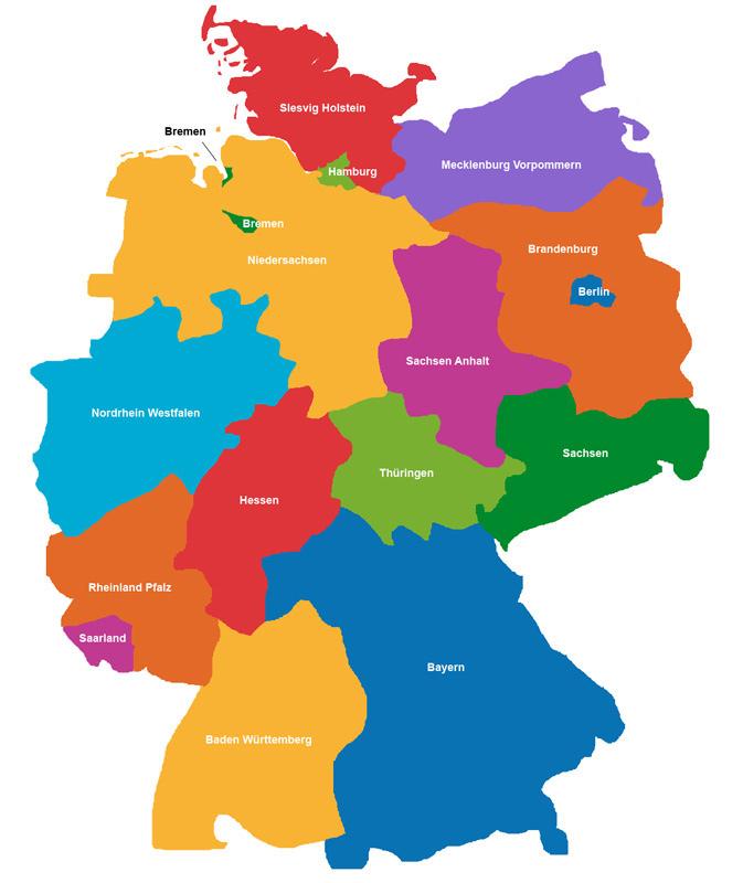 Bundesland Bremen Karte.übersicht Der Postleitzahlen Plz Karte