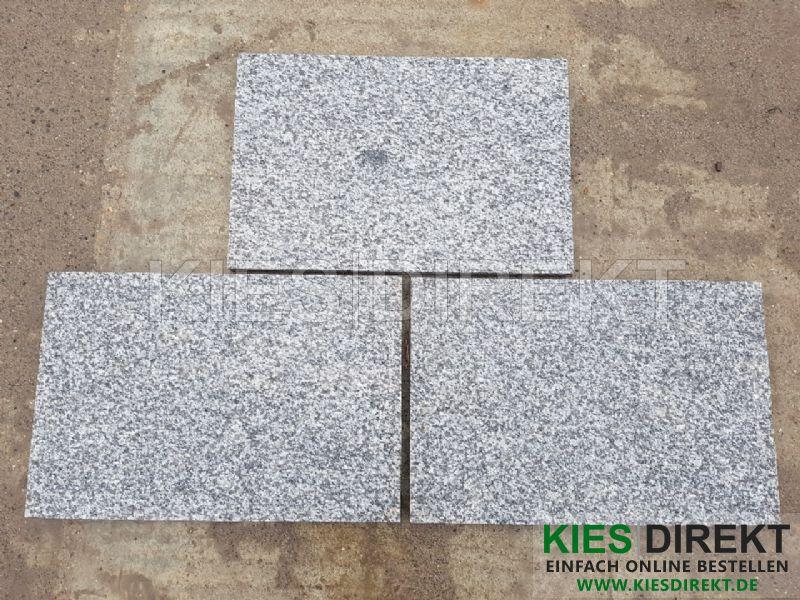Granit Platte 60x40x3 Grau