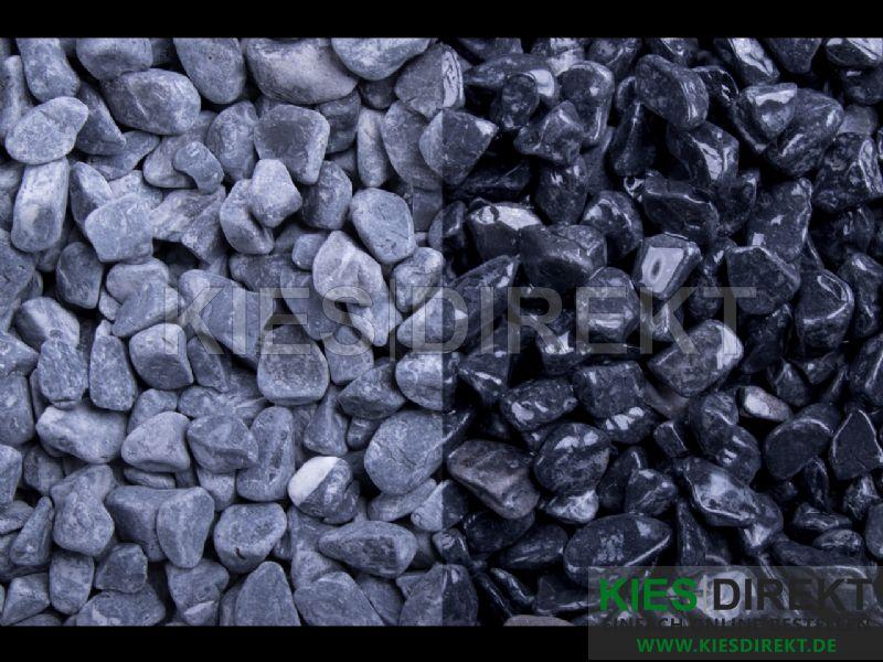 Kieselsteine Amarelo Kies Körnung 4-8 mm Zierkies Natursteine Kiesel