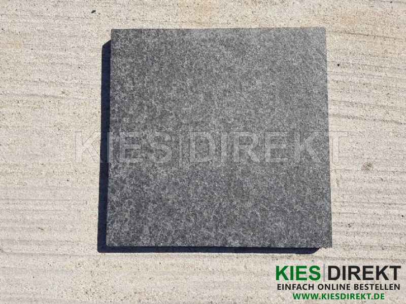 basalt platte 40x40x3 schwarz. Black Bedroom Furniture Sets. Home Design Ideas